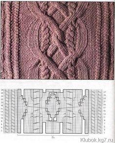 шарф воротник вязаный спицами для женщин. Фото №4
