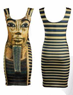 EGYTIAN DRESS, $50.00 by IMAJE