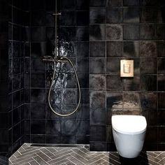 Honka INK bathroom tiles