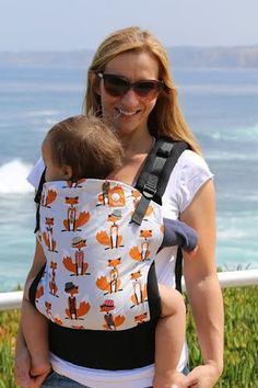 I'm in love with this one! Going to have to save up  Tula Baby Carrier Standard - Foxy – Carry Them Close