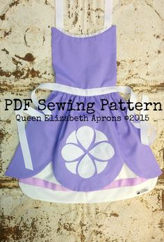 SOFIA the FIRST Disney Junior Jr. Princess by QueenElizabethAprons