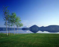 Lake Toya, Hokkaido.