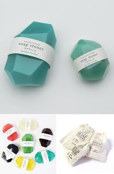 Packaging Jabón, Soap Stones by Pelle Designs Handmade Soap Packaging, Craft Packaging, Handmade Soaps, Packaging Design, Diy Beauty Essentials, Christmas Soap, Organic Soap, Home Made Soap, Soap Making