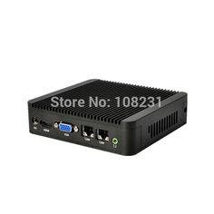 Dual lan mini pc with nano itx motherboard, celeron 1037u mini pc with 4GB RAM, QOTOM mini pc windows 8.1