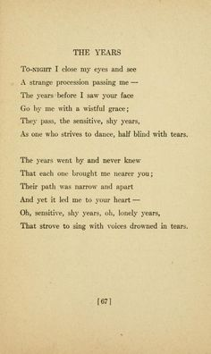 Sara #Teasdale - Love songs  Celebrate Legendary American Poetry at http://www.ameriverse.org http://www.youtube.com/ameriverse #ameriverse