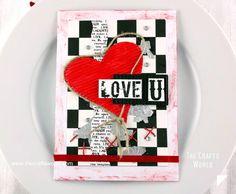 Valentine's day invitation to dinner