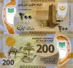 Mauritania 200 Ouguiya 2017