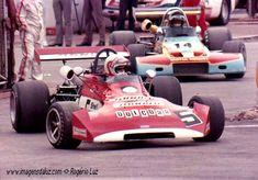 (5) - Clay Regazzoni - March 722 Ford BDA - Shell Arnold Team - (14) Ronnie Peterson - Brabham BT38 Ford BDA - Motul Rondel Racing - II Torneio Brasiliero Formule 2 1972 - Interlagos, Sao Paolo, Brazil