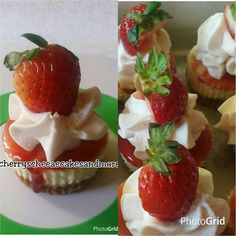 Barefoot Pink Moscato Strawberry Cheesecake Cupcake