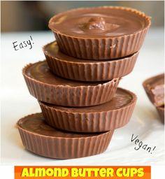 Vegan Almond Butter Cups!