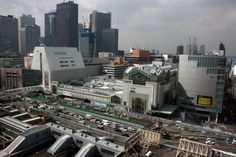 Shinjuku Station in Tokyo