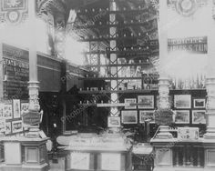 Interior Of Telephone Store 8x10 Reprint Of Old Photo