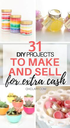 Looking for hot craft ideas to sell on Etsy or at craft fairs? Check out these 32 EASY crafts to make and sell from home to make EXTRA CASH quickly! Check out these DIY crafts to sell NOW! things Hot Craft Ideas to Sell - Crafts To Make And Sell From Home Craft Ideas To Sell Handmade, Diy Projects To Make And Sell, Diy Gifts To Sell, Easy Crafts To Make, Sell Diy, Kids Crafts To Sell, Make To Sell, Making Things To Sell, Craft Fair Ideas To Sell
