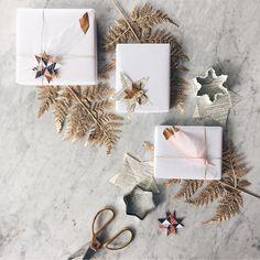 Bildergebnis für geschenke verpacken natur