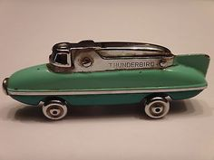 Vintage THUNDERBIRD Cigarette Lighter. Made in Japan.
