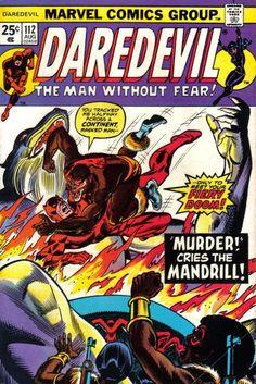 Daredevil #112, Mandrill.