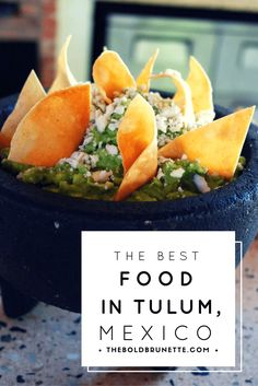 You need to go here to eat some of the best food in Tulum, Mexico!