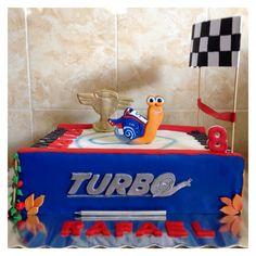 Turbo theme cake, made by me!