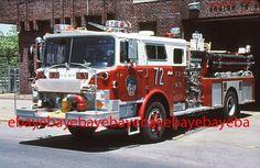 New York City Squad 61 1988 Mack CF Ward 79 pumper Fire Apparatus Slide Fire Dept, Fire Department, Lego Fire, Rescue Vehicles, Mack Trucks, Fire Apparatus, Emergency Vehicles, Firefighting, Fire Engine