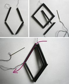 DIY :: Himmeli | Flor de Capomo