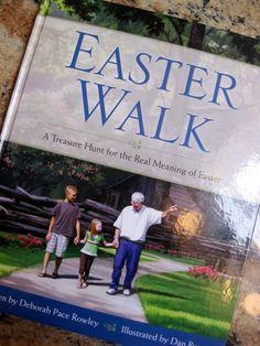 Easter Walk: Scavenger hunt for symbols of the story of Easter