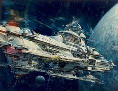 The Classic Sci-Fi Art of John Berkey | Science Fiction Artist