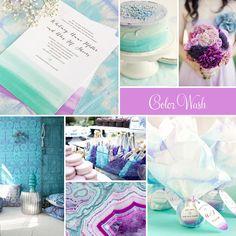 Wedding Inspiration: Watercolor Wedding