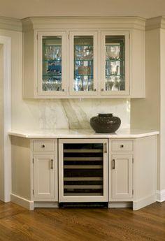 White Kitchen I transitional kitchen