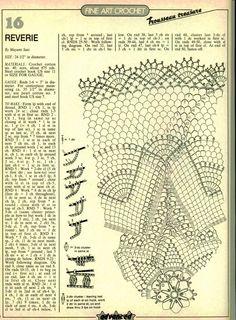 World crochet: Tablecloth 147 Crochet Doily Diagram, Crochet Doily Patterns, Filet Crochet, Crochet Motif, Mandala Crochet, Crochet Hook Sizes, Thread Crochet, Crochet Dollies, Crochet Tablecloth