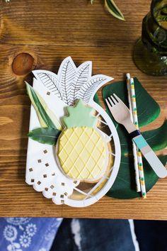 boho pineapple party ideas