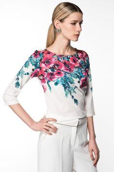 Milla by trendyol Çiçek Baskılı Bluz 1