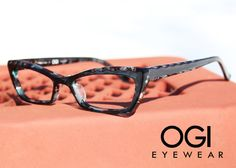 Check out this funky print and shape from #OGI #eyewear