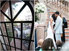 Gorgeous ceremony! Orange County Wedding, Photography by Bauman Photographers  http://baumanphotographers.com/blog/weddings/2014/07/turnip-rose-wedding-costa-mesa-ca/