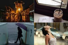 Inspiração fotos em dias chuvosos