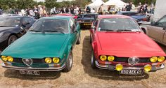 Alfetta GTV Alfa Gtv, Alfa Romeo Gtv, Alfa Romeo Cars, Alpha Dog, Vintage Racing, Museums, Bella, Cars Motorcycles, Festivals