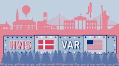 GRAFIK Hvis Danmark var USA, var vi… … Tykkere, rigere og drak mindre alkohol. I gennemsnit. Klik selv rundt grafikken og se flere fakta om det amerikanske samfund set i forhold til vores egen andedam.
