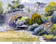Roman Bridge near Brantes