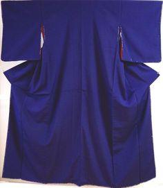 Kimono Dress Japan Vintage Geisha costume used silk Iromuji 1610V1S18