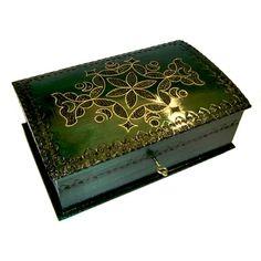 Deluxe Large Locking Chest - Tatry Highland Green - Polish Box