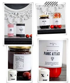 Free Jar Printables | 24 Beautiful And Stylish Ways To Decorate For Halloween