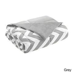 ID-Intelligent Design Chevron Throw | Overstock.com Shopping - Great Deals on ID-Intelligent Designs Throws