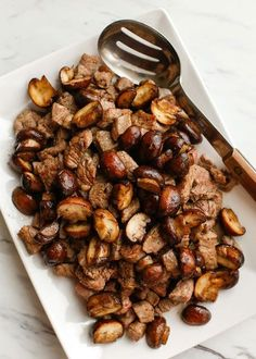 With the very first taste, these Buttered Steak Bites with Mushrooms became an instant favorite for my whole family. Served with a simple salad, or Salt Potatoes, this is a hearty meal that is sure to earn thumbs up all the way around your table. Bite-size pieces of tender steak are seared in a hotRead More