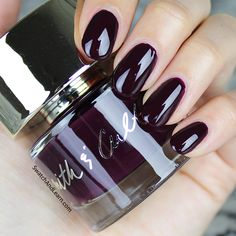 Throw shade on your nails with Smith & Cult Dark Like Me!