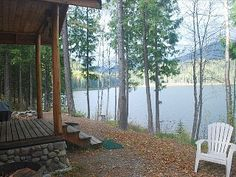 A Serene Lake Front Cabin Minutes from Glacier National Park