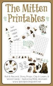 The Mitten Printables