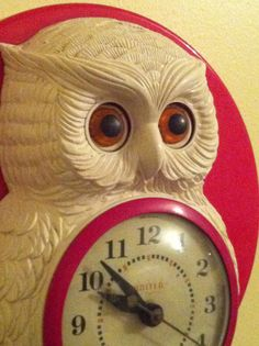 White Owl, Red Kitchen...SOLD
