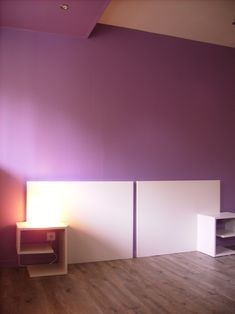 T te de lit on pinterest headboards pallet headboards and deco - Fabriquer tete de lit lumineuse ...