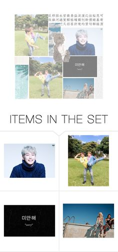 """""""Im back, guys. Please read that d."""" by himchan-an0n ❤ liked on Polyvore featuring art"""