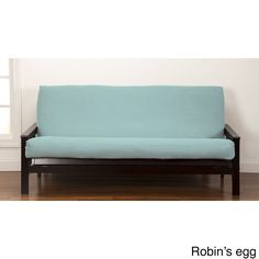 crayola color full size futon cover  robin u0027s egg blue full size   solid  sure fit canvas futon slipcover   home sweet home   pinterest      rh   pinterest