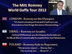 Romney's Gaffe Tour